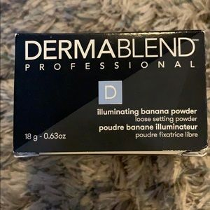 Dermablend professional illuminating banana powder